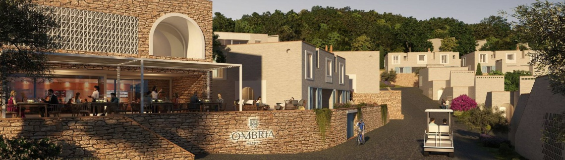 Gama Uno is cooperating in the Ombria Resort project