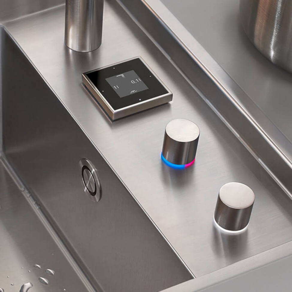 eUnit Kitchen - SMART TOOLS by Dornbracht